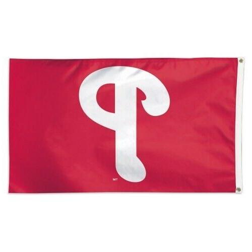 philadelphia phillies 3x5 flag deluxe banner baseball