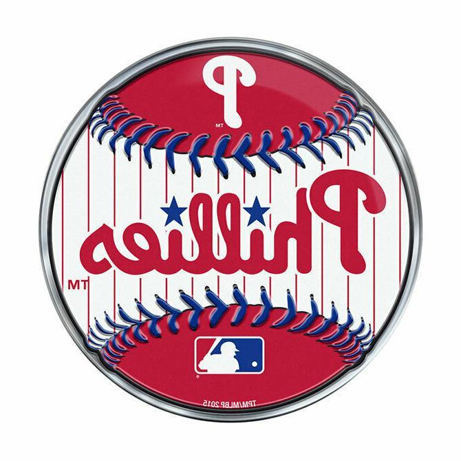 philadelphia phillies baseball emblem mlb 3 25