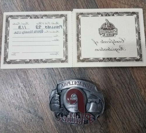 Philadelphia Belt 1993 USA