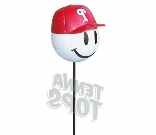 Philadelphia Phillies Car Antenna Topper / Mirror Dangler /