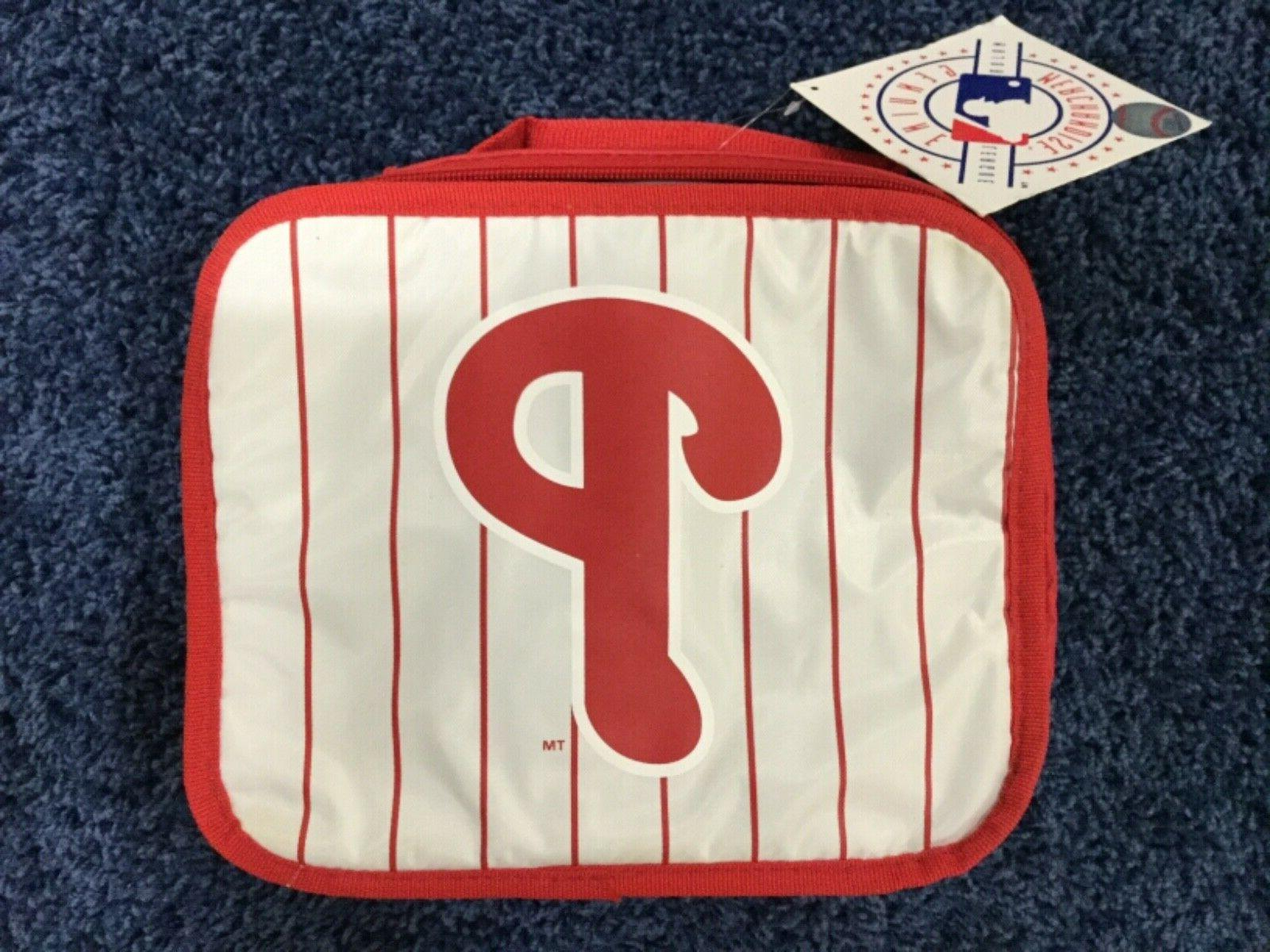 philadelphia phillies insulated lunch box soft sided