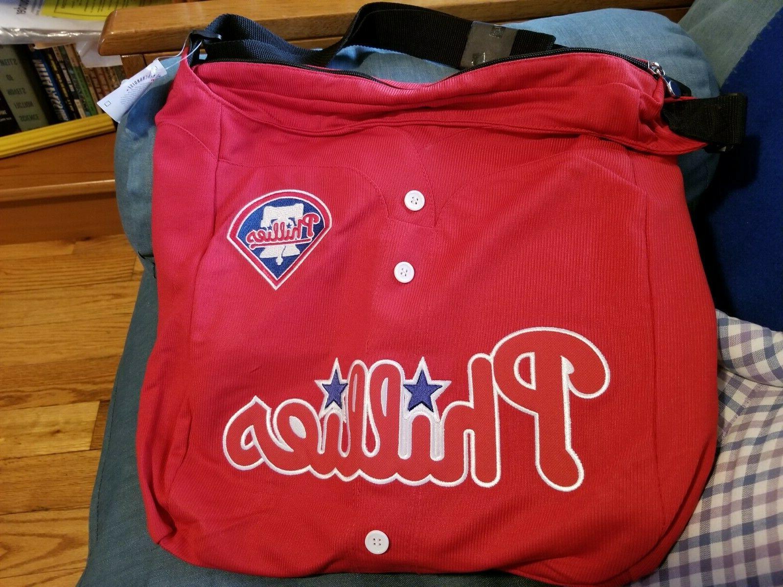 philadelphia phillies jersey tote bag new