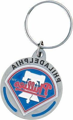 Philadelphia Phillies MLB Keychain