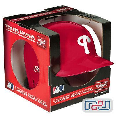 philadelphia phillies mlb mini replica baseball helmet