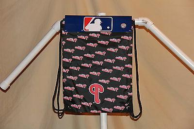 philadelphia phillies mlb team drawstring back sack