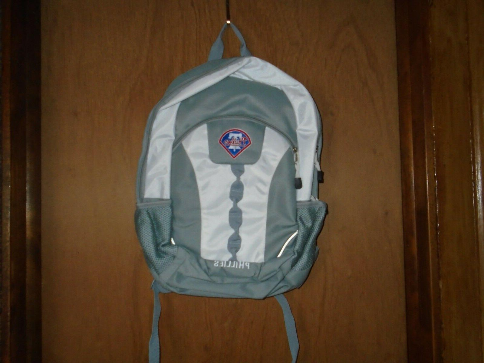 philadelphia phillies mlb team sport backpack nwt