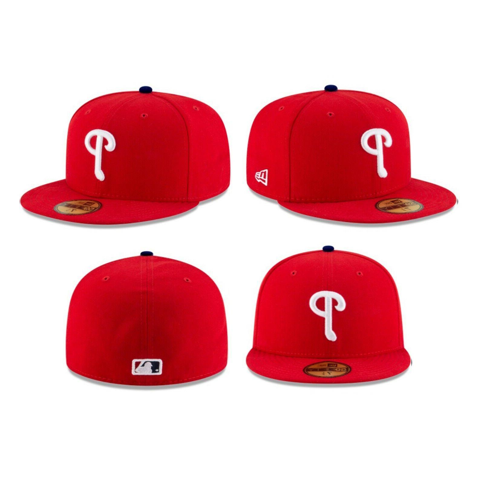 Philadelphia Phillies PHI Authentic New 59FIFTY Red
