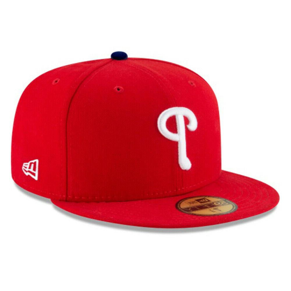 philadelphia phillies phi mlb authentic 59fifty fitted