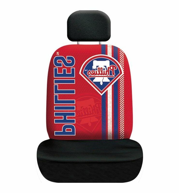 philadelphia phillies rally design seat cover