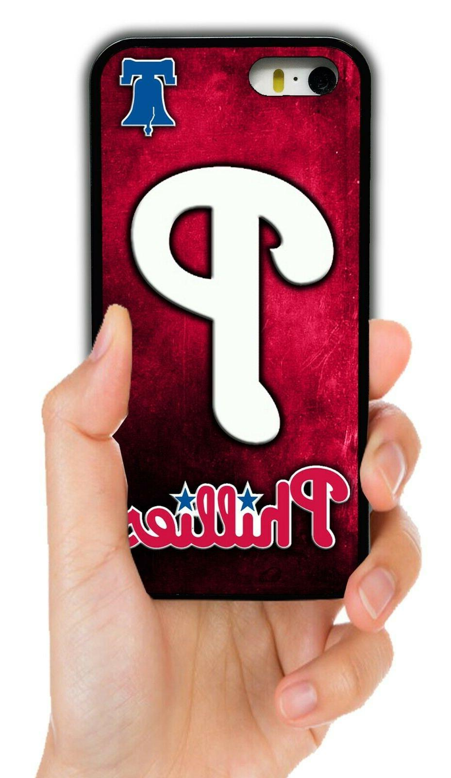 philadelphia phillies rubber phone case for iphone