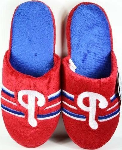 philadelphia phillies slippers slides house shoes mlb