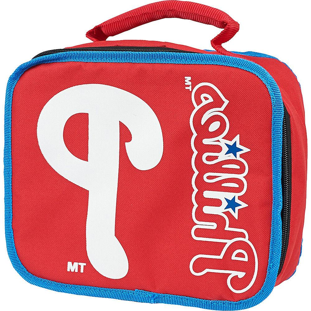 philadelphia phillies team logo sacked lunchbox cooler