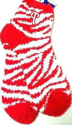 Philadelphia Phillies  Womens MED  6-11   Mens Socks  MED si