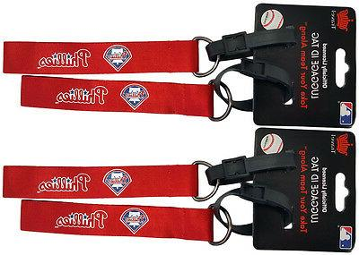 set of 4 philadelphia phillies officially licensed