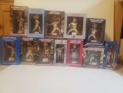 Lot of 12 Philadelphia Phillies Bobbleheads & Figurines New