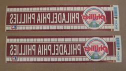 Lot Of  Vintage Philadelphia Phillies 1990's Wincraft Bumper