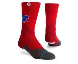 Men's Philadelphia Phillies Stance Red Diamond Pro Crew Sock