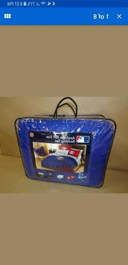 MLB Applique Full Bed Set- Phillies 7 PIECES