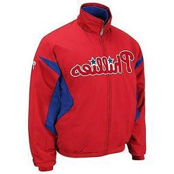 MLB Majestic Authentic Philadelphia Phillies Therma Base Jac