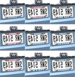 MLB Auto License Plate Frames - Chrome - Choose Your Team