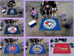 MLB Licensed 5'X6' Tailgater Area Rug Floor Mat Carpet Man C