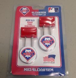 MLB Philadelphia Phillies MyFanClip All Purpose Metal Clip