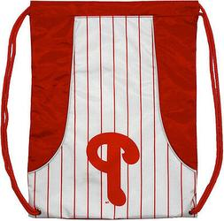 MLB Philadelphia Phillies Backpack Cinch String Bag Tote Dra