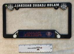 mlb philadelphia phillies baseball license plate frame
