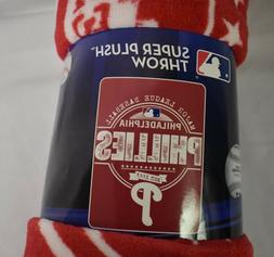 Northwest MLB Philadelphia Phillies Baseball Super Plush Thr