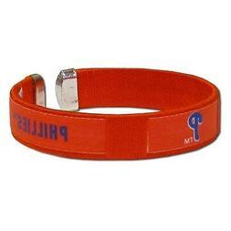 MLB Philadelphia Phillies Fan Band Bracelet Wristband Logo C