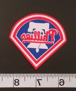 MLB Philadelphia Phillies Iron On Fabric Applique Patch Logo