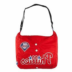 "MLB Philadelphia Phillies ""Jersey"" Style Philly Tote Messeng"