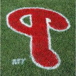 MLB Philadelphia Phillies Lawn Logo Paint Stencil