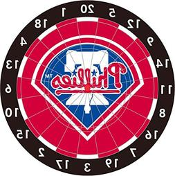 MLB Philadelphia Phillies 12-Inch Paper Dart Board With Dart