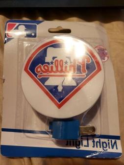MLB PHILADELPHIA PHILLIES Plug-In Night Light -- PHILLIES -