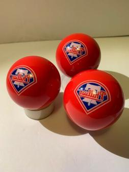 mlb philadelphia phillies pool billiard ball red