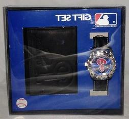 MLB Philadelphia Phillies Game Time Watch & Wallet Gift Set