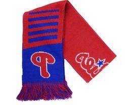 "Philadelphia Phillies MENS 60"" Reversible Knit Acrylic Wordm"