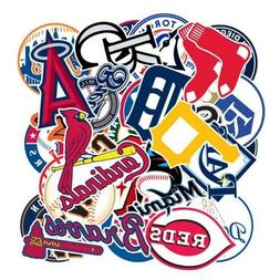 MLB Team Logo VINYL Stickers CHOOSE YOUR TEAM OR COMPLETE SE
