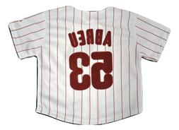 Majestic MLB Toddler Philadelphia Phillies Bobby Abreu Sewn