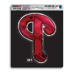New MLB Philadelphia Phillies Premium Vinyl Die Cut 3-D Deca