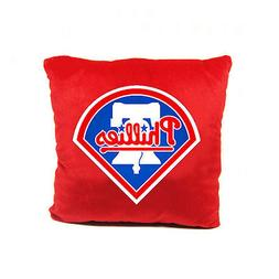 New MLB Philadelphia Phillies Throw Plush Pillow Embroidered