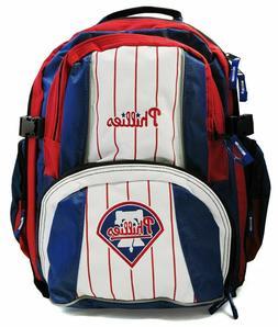 New MLB Team Philadelphia PHILLIES Backpack Back Packs MLPH5