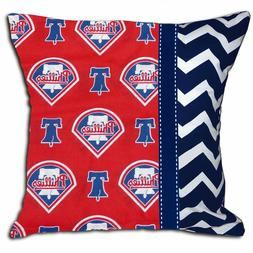 NEW Philadelphia Phillies MLB Baseball Decorative Throw Pill