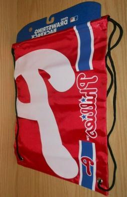 NEW Sports Crate MLB PHILADELPHIA PHILLIES Cinch Sack Bag Dr