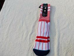NWT Stance 558 baseball socks, men's L, Philadelphia Phillie