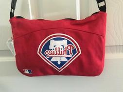 Phil Phillies MLB Shoulder/Messenger Purse Bag Tote Baseball