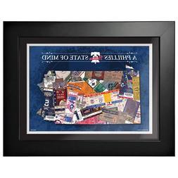 Philadelphia Phillies 12x16 State of Mind Framed Artwork