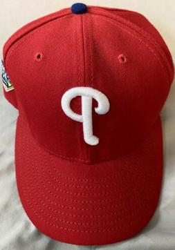 PHILADELPHIA PHILLIES: 2008 Red World Series, 59Fifty, VEL -