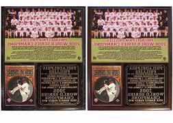 Philadelphia Phillies 2008 World Series Champions Photo Card